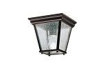 Kichler Outdoor Flush Mt 1Lt BK
