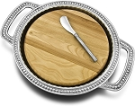 WILTON FLUTED & PEARLS CHEESEBOARD